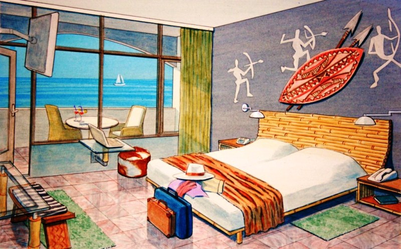 P600 Prampram Beach  Leisure BEDROOM